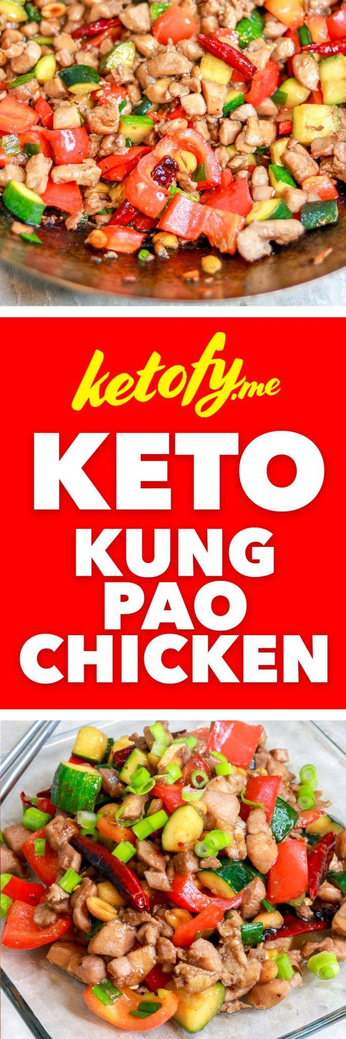 Ketofy.me - Keto & Low Carb Kung Pao Chicken | www.ketofy.me