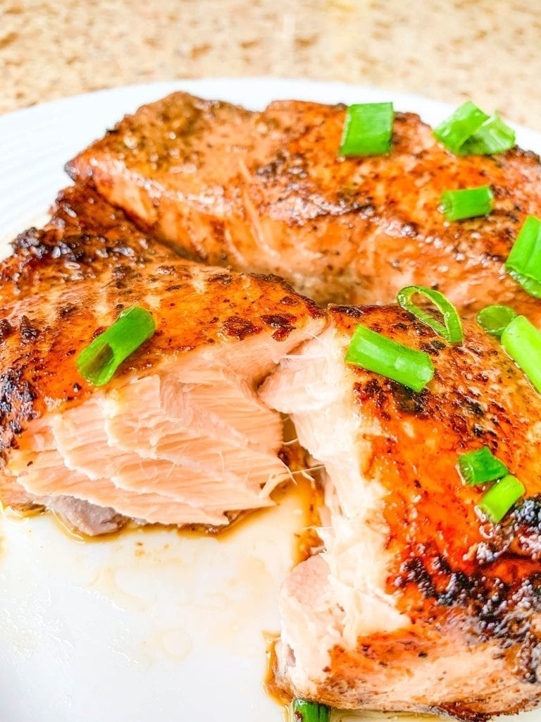 Keto and Low Carb Salmon Teriyaki | Gluten-Free | Low Carb | Nut-Free | Dairy-Free | www.ketofy.me | Keto Recipes | Keto Resources | Eating out on Keto | How to Start Keto Guide