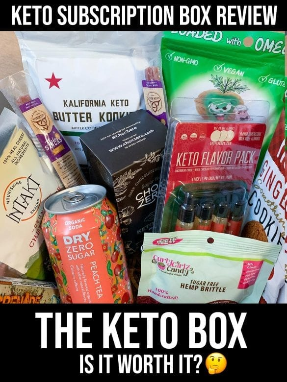 The Keto Box Review from Ketofy Me - Is The Keto Box worth it - Keto Snacks and Goods