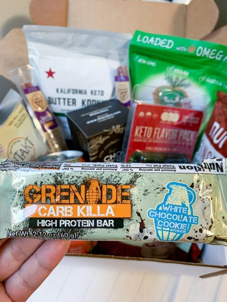 Grenade Carb Killa | The Keto Box Review from Ketofy Me - Is The Keto Box worth it - Keto Snacks and Goods | www.ketofy.me | Keto Recipes | Keto Resources | Eating out on Keto | How to Start Keto Guide