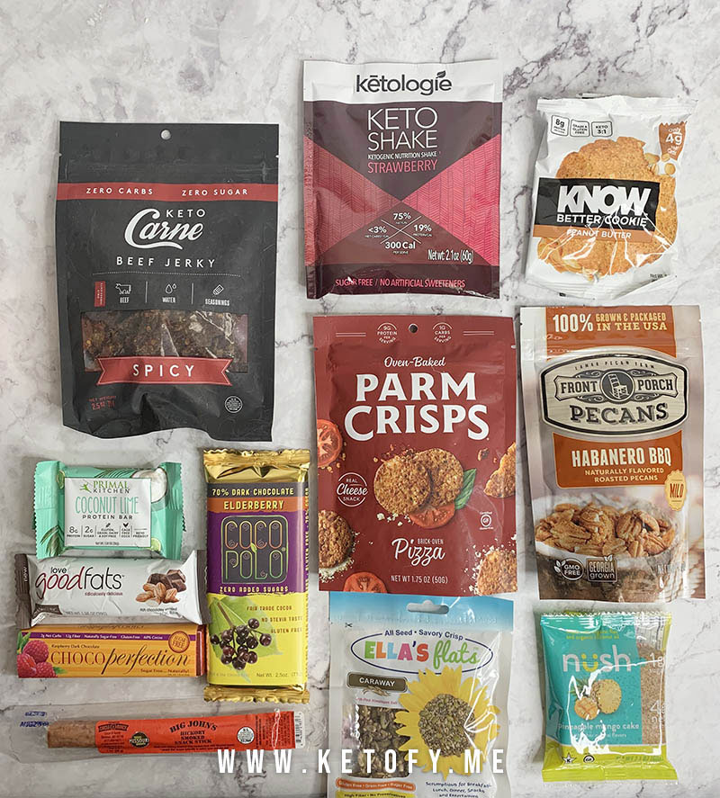 Keto Krate Subscription Box Review - February 2019 | Is it worth the subscription? | www.ketofy.me